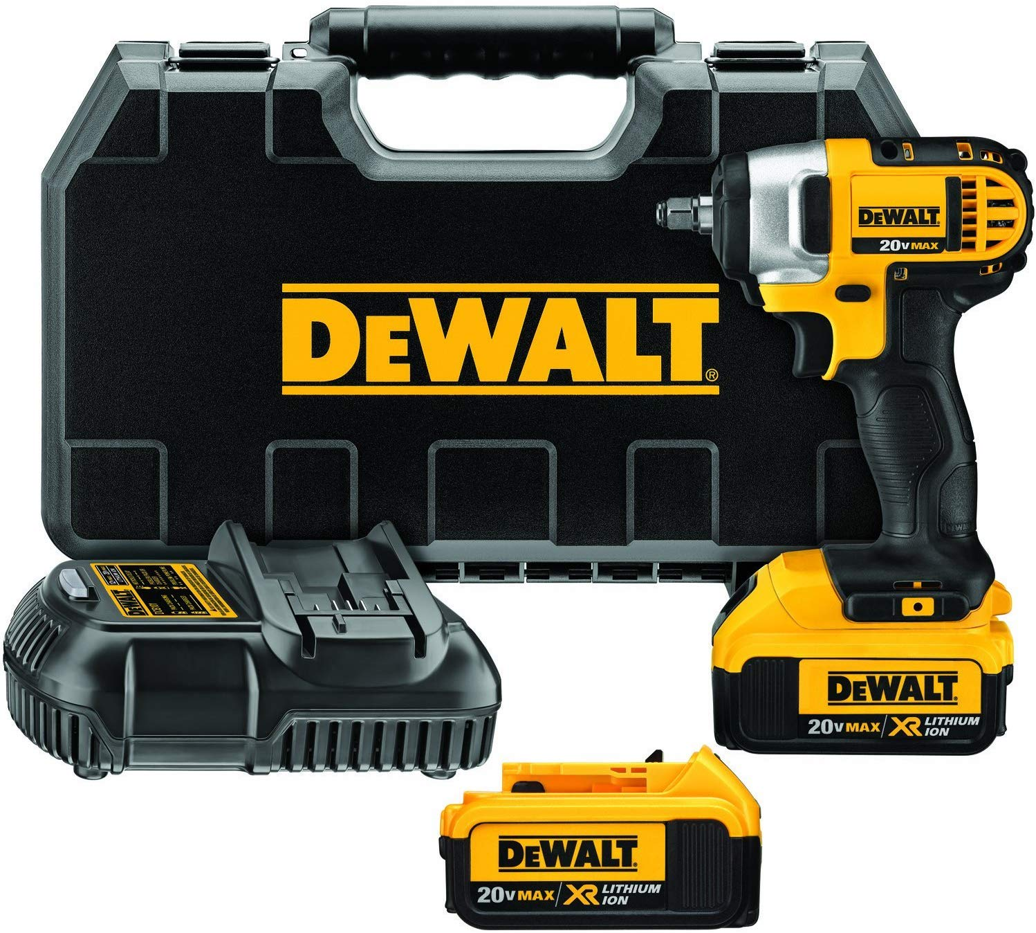 DEWALT DCF883M2 Cordless Impact Wrench Kit