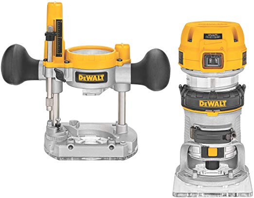 DEWALT Router Fixed Plunge Router kit
