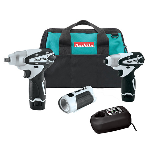 Makita LCT319W 3-Piece 12V MAX Lithium-Ion Cordless Combo Kit