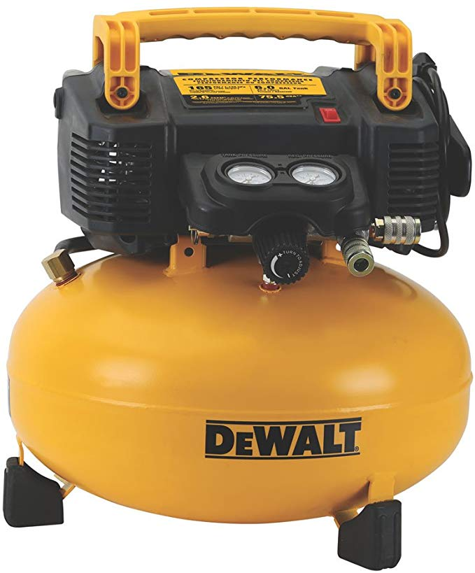 DeWalt Air Compressor, Pancake, 6 Gallon, DWFP55126
