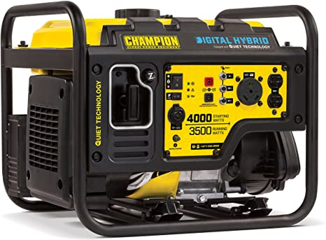 Champion Power 4000-Watt Digital Hybrid Generator