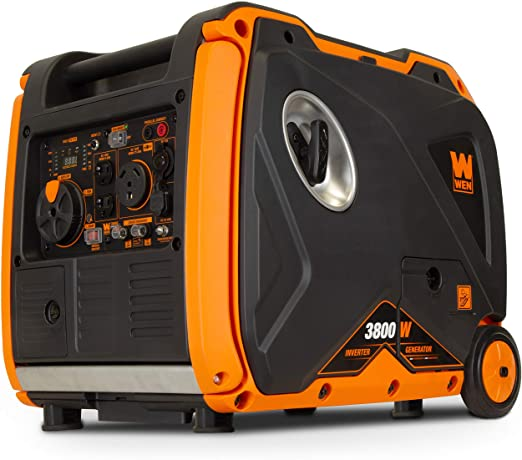 WEN Super Quiet 3,800-Watt Portable Inverter Generator